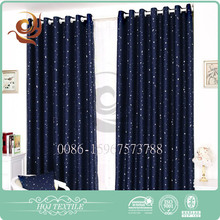 Modern house design supplier Factory price Decorative microfiber fabric blackout curtain
