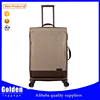 Alibaba China new custom size suitcase waterproof materials suitcase wheels light weight nylon trolley suitcase