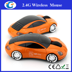 Computer Accessories 2.4G Wireless PC Car Mouse