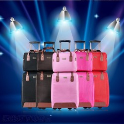 Business travel trolley laptop case and luggage bag