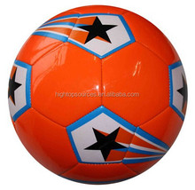 2015 PVC/TPU/PU leather size 5 Machine stitched customized promotional soccer ball