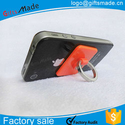 promotional wholesale custom cheap bulk metal , silicone or plastic smart phone holder