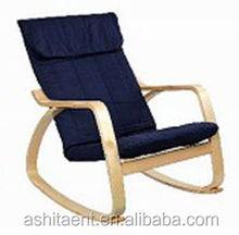 K/D Birch bentwood DESIGNER Rocking chair