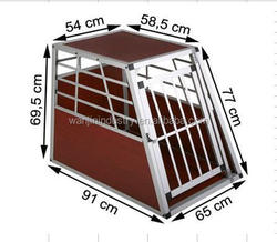 Aluminum Pet Cage/ Big Single Door Alu Dog Cage