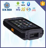 handheld qr barcode scanner industrial pda touch screen data terminals