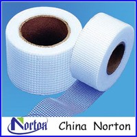 65g 9x9mesh Adhesive Fabric Fiberglass Mesh Plaster Tape NTSAT014