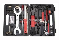 LB-488 42pcs professional bicycle bike repaire tool kit / tool box / portable aluminum tool box