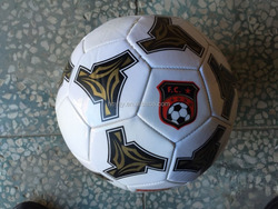 promotion 5# pvc soccer ball machine sticked soccer ball