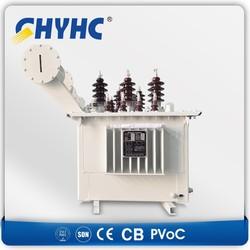 3 Phase S9-M-1250 33/0.4kV AL compension winding, CU regulating winding 1250KVA oil immersed distribution transformer $11883/set