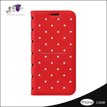 New Sublimation Design Pu Leather Phone Case for samsung S6