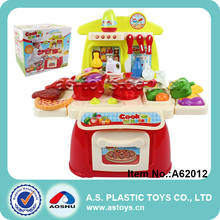Light and sound tableware toy plastic mother garden kitchen toy set