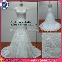 new model 2014 new beautiful model bridal dress /wedding dress /wedding gown