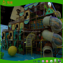 Indoor Playground Type and Inflatable Playground Material kids indoor exercise playground equipment