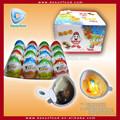 kinder de huevo de chocolate con la novedad de juguete de interior