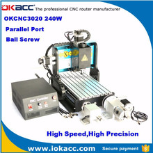 Mini cnc engraving machine with price for okacc 3d mini cnc engraving machine 3040 240w 4 axis parallel port
