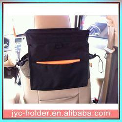 folding car organizer ,H0T017 car seat back table , collapsible car boot organizer