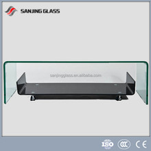 Laminated glass price for hot bent glass coffee table