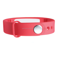 High Quality smart bluetooth bracelet usb rechargeable wristband stopwatch pedometer