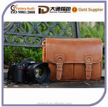 New Vintage PU Leather Camera Bag Messenger Bag for DSLR