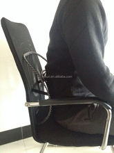 fashionable black mesh summer back cushion