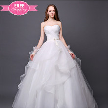 ShiJ Dresses With Ruffles and Flounces Made to Order Wedding Dresses China