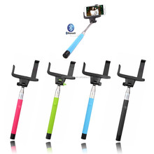 Selfie Stick, Extendable Handled Stick with Adjustable Phone Holder & Built in bluetooth remote shutter for samsung iphone