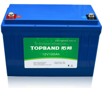 China Alibaba first brand aerial lifts battery 12V 100Ah with BMS 100Amps