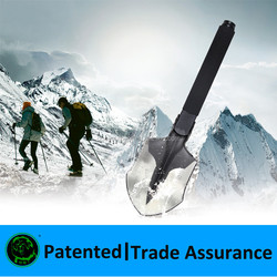 Outdoor Solo hiker equipemnt ,outdoor camping Mini shovel,camping store supplies
