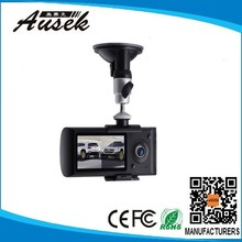 Newly dual camera car dvr support 32GB TF Card from China