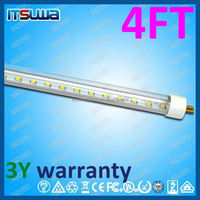 LED tube 4 foot, dimming function luminaria, Plug and paly