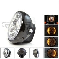 BJ-HL-008 New arrival ATV scooter 35W 26 LED dirt bike motorcycle universal vision headlight