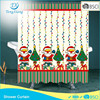 100% Polyester Fabric Christmas Shower Curtains
