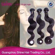 Guangzhou wholesale virgin human hair extension