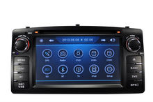 Car DVD for Toyota Corolla E120 2003-2006 BYD F3 old with CPU MTK3360 800MHZ Dual Core Radio Tape Recorder Stereo