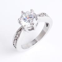 zircon stainless steel price latest design crystal diamonds rings