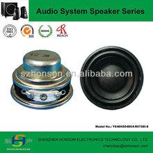 40mm 4 Ohm 3 Watt Full Range Mini Bluetooth Speaker Driver