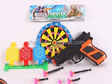 14cm kid cheap plastic soft bullets dart blow gun toy wholesale