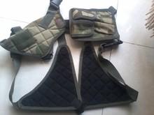 Cs juego de combate del ejército universal pistolera, tactical plásticos hombro fundas