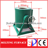 JC 110/220V Gold, Silver,Copper Metal Scrap Melting Furnace