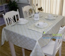 100% Polyester Lurex Table Cloth