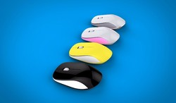 Promotion price 2.4G wireless mouse optical mouse, g132 gift mouse,computer accessories