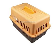 Pet travel box plastic pet dog cat rabbit hamster carrier cage plastic dog pet kennel
