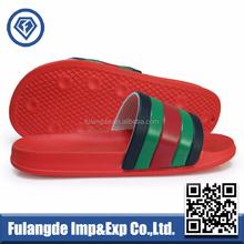 OEM custom EVA slippers stock wholesale pu men slippers PU upper Slide Slippers