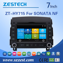 ZESTECH lowest price HD touch screen car dvd player for hyundai Sonata 2006-2011 car Autoparts with usb, swc, BT