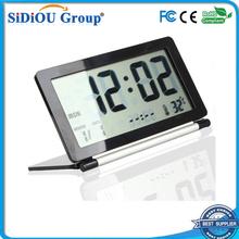 large screen thin led clock display alarm clock