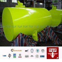 floating steel buoy for marine parts