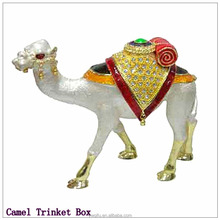China Manufacturer 2015 Trending New Products / Quality Craft Jewelry Box / Camel Trinket Box For Woman QF1777-007