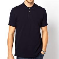 Factory Wholesale Cheap Black Polo T Shirts