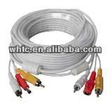 RCA DC cctv av cable 20M
