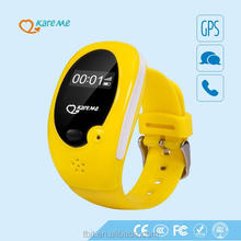 2015 Popular smallest waterproof kids gps tracker watch/ kids gps wrist watch mobile phone for wholesales